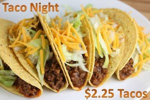 Rooneys Monday Night Tacos